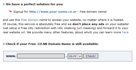Top 5 website cung cấp tên miền miễn phí tốt nhất
