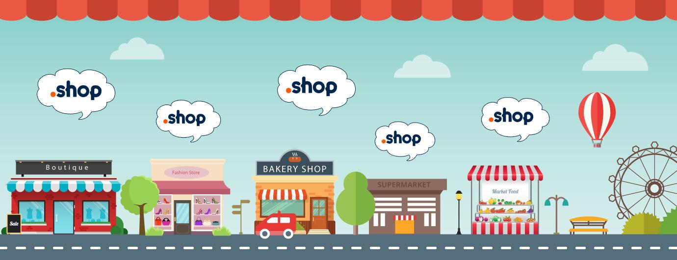Cung cấp tên miền .shop tại Việt Nam vào cuối 2016